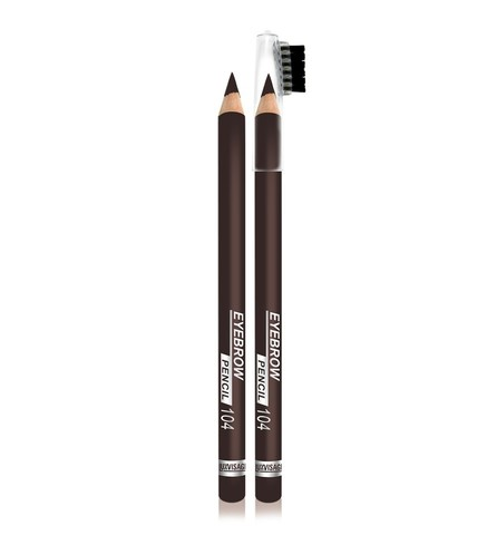 LuxVisage Eyebrow pencil Карандаш для бровей тон 104 чёрный