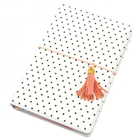 Блокнот (тревелбук) - American Crafts Journal Studio Kit  - 14х22 см -  Dot By Crate Paper