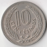 K8346, 1953, Уругвай, 10 сентесимо