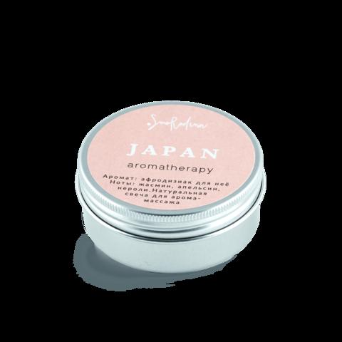 Свеча для аромамассажа - цветущая сакура Япония, мини-версия, SmoRodina