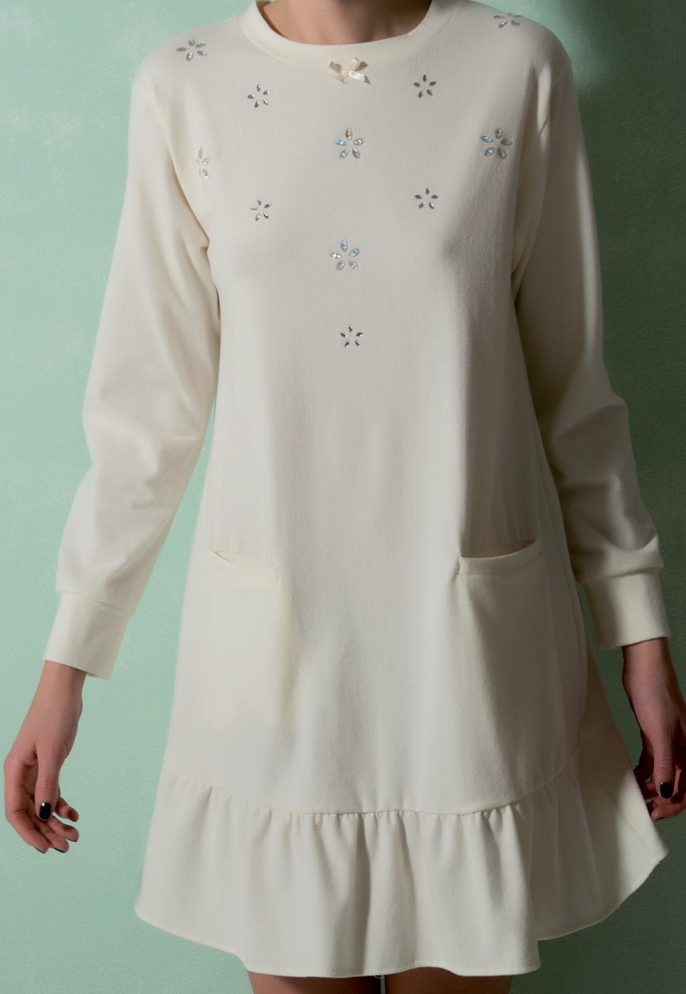 Домашнее платье свободного кроя Rebecca & Bros