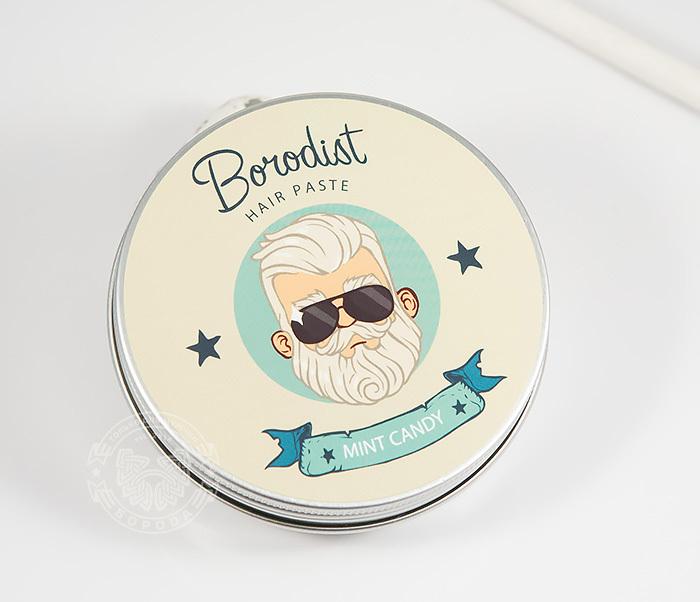 RAZ216 Матирующая паста для укладки волос «Borodist Mint Candy» (100 гр) фото 01
