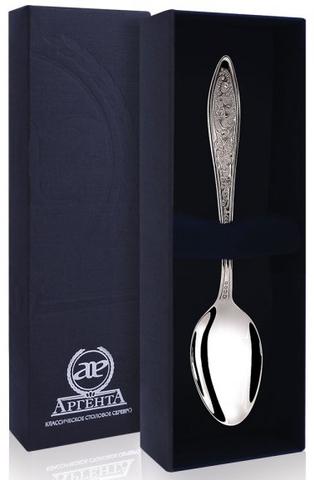 Серебряная чайная ложка «Морозко»