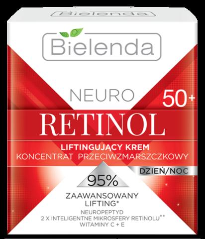 NEURO RETINOL Подтягивающий крем-концентрат против морщин 50+ дневной/ночной 50мл
