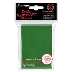 Ultra Pro - Зеленые протекторы 50 штук