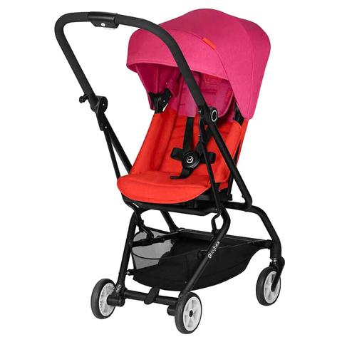Прогулочная коляска Cybex Eezy S Twist с бампером Fancy Pink