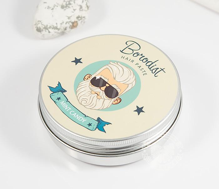 RAZ216 Матирующая паста для укладки волос «Borodist Mint Candy» (100 гр) фото 02