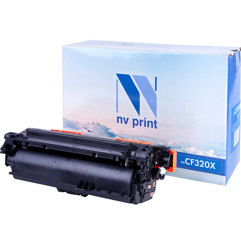 Картридж НР CF320X черный NVP для HP LaserJet Color MFP-M680dn/ M680f/ Flow M680z
