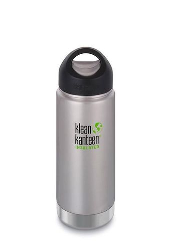 Термобутылка Klean Kanteen Insulated Wide Loop Cap 473мл Brushed Stainless