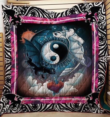Как приручить дракона одеяло стеганое расцветка №3