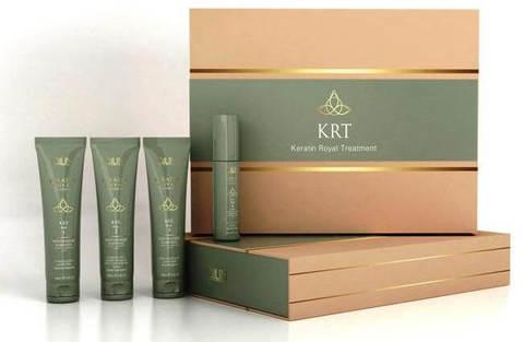 Набор для кератинового восстановления волос KRT, Ollin Keratin Royal Treatment