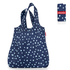 Сумка складная Mini maxi shopper spots navy Reisenthel