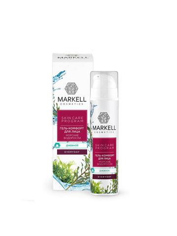 Markell Skin Care Program Гель-комфорт для лица Морские водоросли дневной 50мл