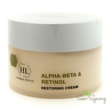 Восстанавливающий крем Alpha-Beta & Retinol Restoring Cream Holy Land, 50мл