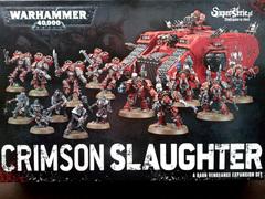 Dark Vengeance Expansion Set: Crimson Slaughter. Коробка