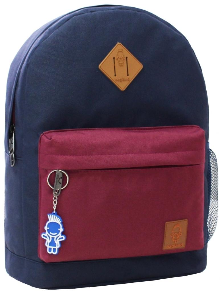 Городские рюкзаки Рюкзак Bagland Молодежный W/R 17 л. 330 чорнильний/вишня (00533662) 0950ca92a4dcf426067cfd2246bb5ff3.JPG