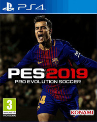 Sony PS4 Pro Evolution Soccer 2019 (русские субтитры)