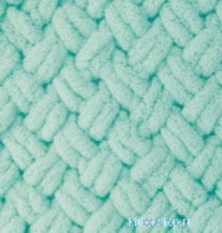 Пряжа Puffy (Alize) 19 светло-бирюзовый, фото