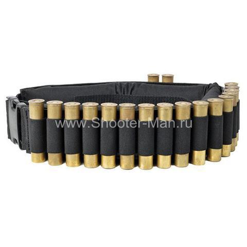 Патронташ для практической стрельбы открытый на 30 патронов