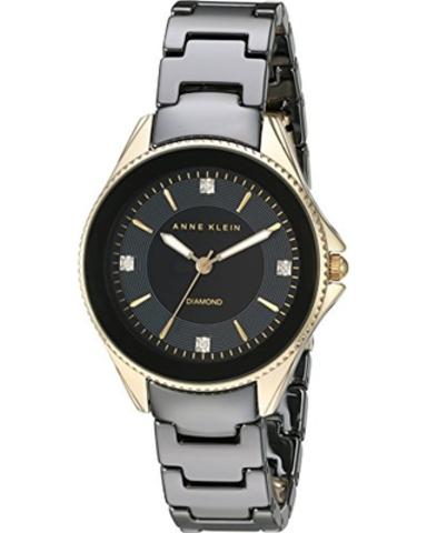 Купить Женские наручные часы Anne Klein 2390BKGB по доступной цене