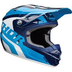 Ricochet Youth Helmet / Детский / Бело-синий