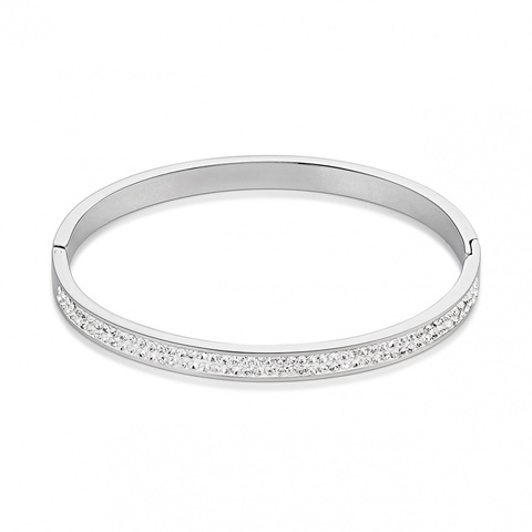 Браслет Coeur de Lion 0114/33-1800 цвет белый, серебряный