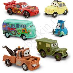 Набор из 6 фигурок - машинок из мультфильма Тачки (Cars) - Figurine Playset, Disney