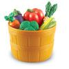 Игровой набор продуктов «Овощи в ведерке»