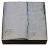 Набор полотенец 2 шт Blumarine Crociera голубой