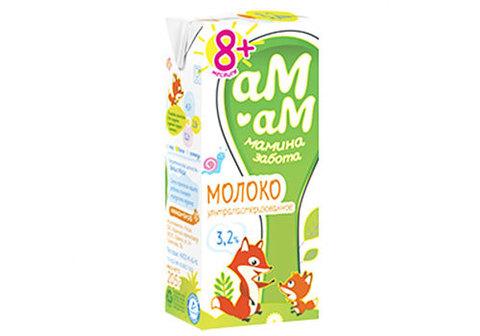 Молоко для детского питания 3.2%, 200мл
