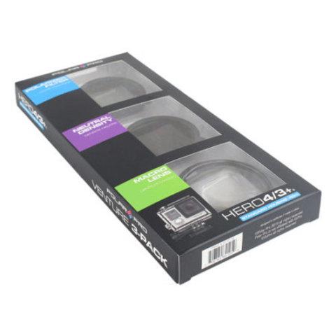 PolarPro Filter 3-Pack // City - Набор фильтров на Hero4/Hero3+ (Полярик, Нейтральный, Макро )