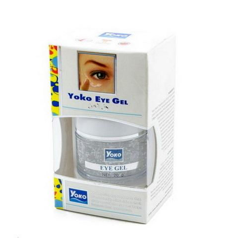 Гель для век с коллагеном и экстрактом огурца Yoko Eye gel, 20 мл