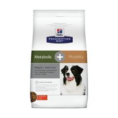 Hill's Prescription Diet Metabolic + Mobility сухой диетический корм для собак при заболевании суставов, с курицей