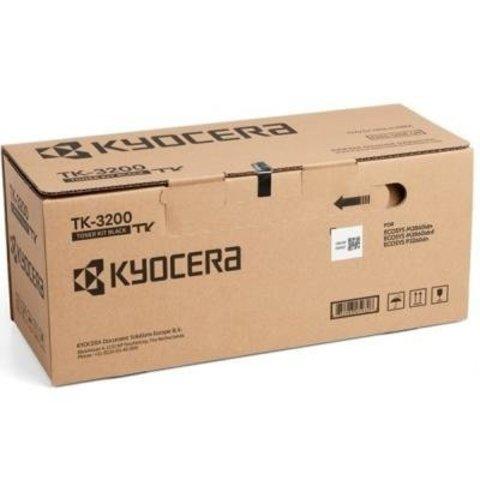 Тонер-картридж TK-3200 для Kyocera P3260dn, M3860idn, M3860idnf. Ресурс 40 000 стр.