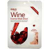 АнтиВозрастная маска-салфетка с экстрактом красного вина La Miso