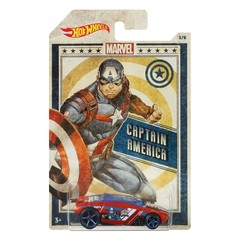 HOT WHEELS MARVEL CAPTAIN AMERICA