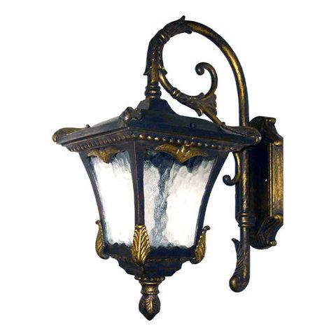 Светильник садово-парковый, 100W 230V E27 черное золото, 9003QM (Feron)