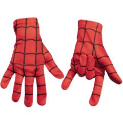 Перчатки Человека-Паука красные