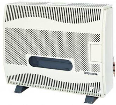 Конвектор газовый напольный Hosseven HBS-12/1V Fan со стальным теплообменником (12 кВт)