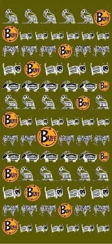 Многофункциональная бандана-труба Buff Logo Ethnic