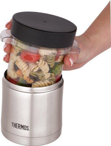 Термос для еды Thermos (0.4 литра) стальной со съемным контейнером