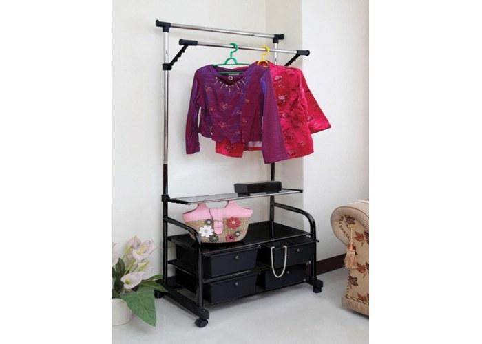 Вешалка для гардеробной комнаты tc-9626 - купить недорого в .