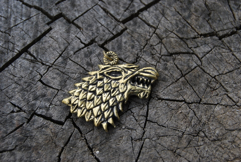 Кулон Волк Старков