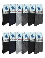 NOB31 носки мужские 42-48 (12шт.), цветные