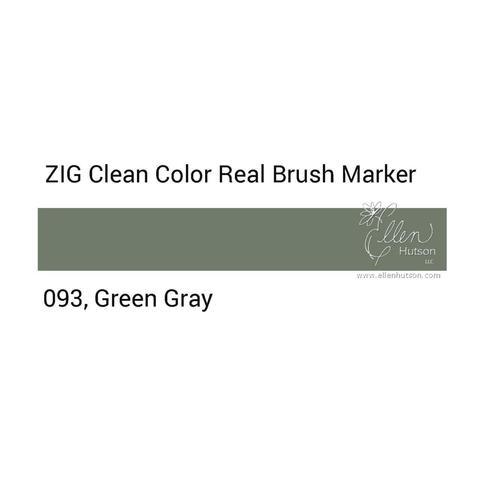 Маркер акварельный ZIG Clean Color Real Brush- штучно - 093
