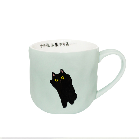 Кружка Black Cat Mint