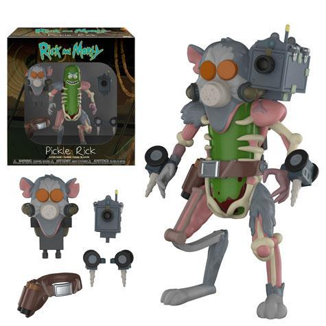 Фигурка Funko Action Figures: Rick  Morty: Pickle Rick 29783