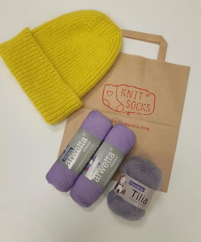 Набор для вязания шапки Filcolana Arwetta Tilia