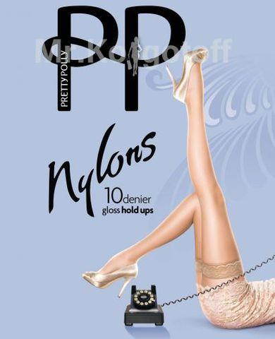 Чулки Pretty Polly Gloss Hold-Ups 10 (AF85)
