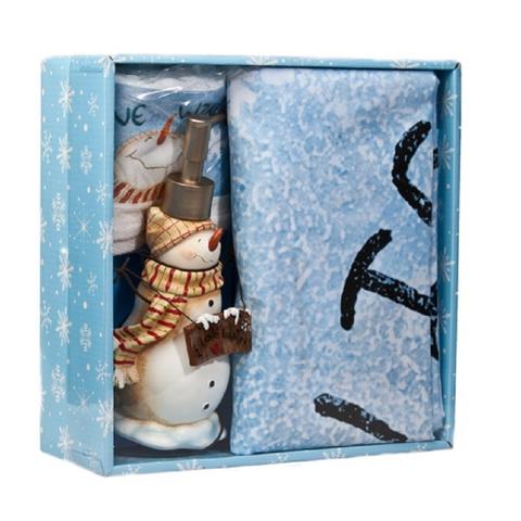 Набор аксессуаров для ванной Blonder Home I Love Winter